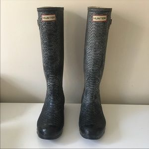 Hunter Carnaby Boa Tall Wellington Boot